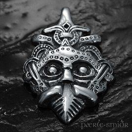 Gnezdovo-Maske silber
